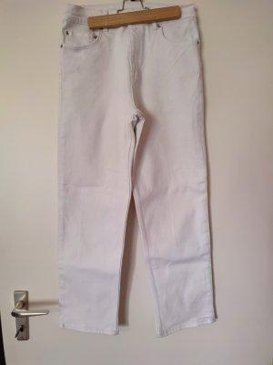 ASOS DESIGN 7/8 Length Trousers white