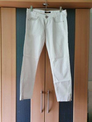 Killah Peg Top Trousers white