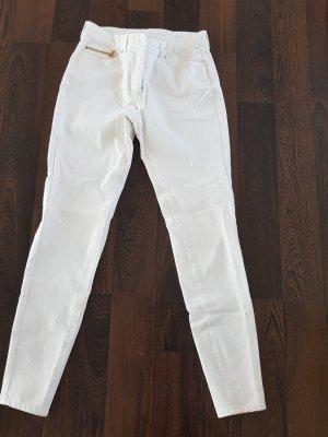 H&M Vaquero slim blanco