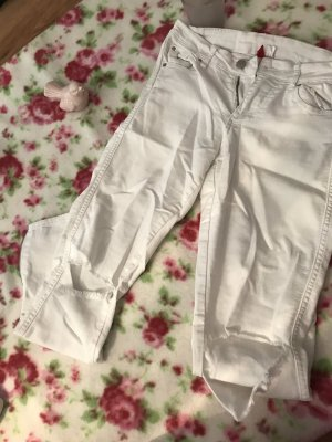 Low-Rise Trousers natural white-white