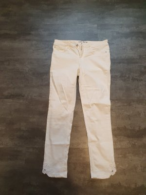Orsay 7/8 Length Jeans white