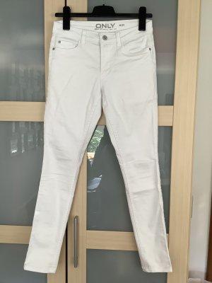 Only Spodnie biodrówki biały