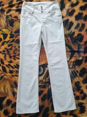 b.c. best connections Pantalon en jersey blanc