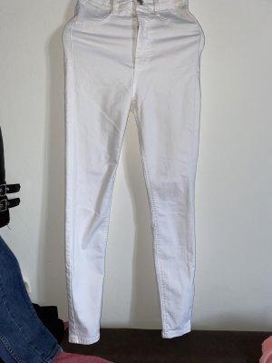 Weiße Hose, highweist
