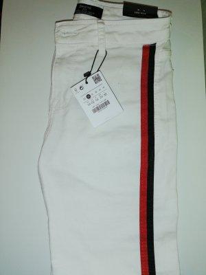 Bershka Pantalone a vita bassa multicolore