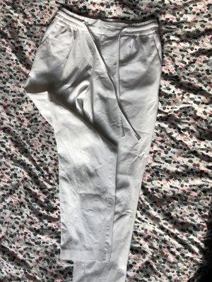 Weiße Hose Stoffhose von Zara