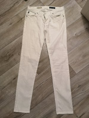Adriano Goldschmied Jersey Pants white cotton
