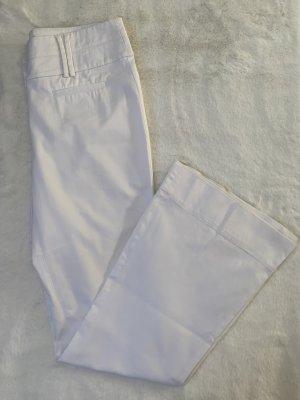 Hallhuber Pantalone Marlene bianco