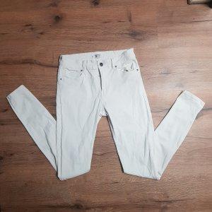 weiße Hose von Mango