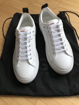 Weiße Hugo Leder Sneaker