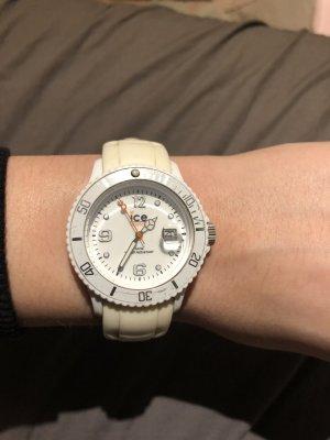 Ice watch Reloj analógico blanco-crema