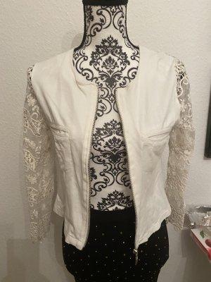 Giacca a blusa bianco Cotone