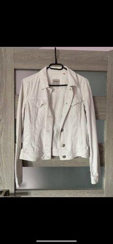 Weiße Jacke