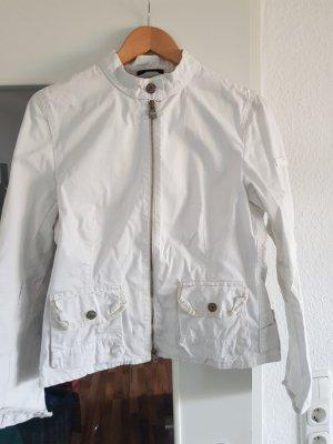 Weiße Jacke/Blazer