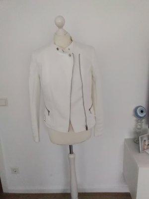 H&M Kurtka przejściowa biały-srebrny