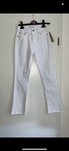 Tally Weijl Pantalón de campana blanco