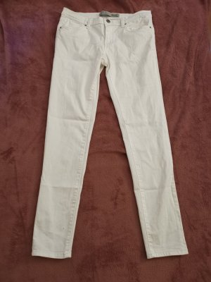 Denim Co. Jeans skinny blanc