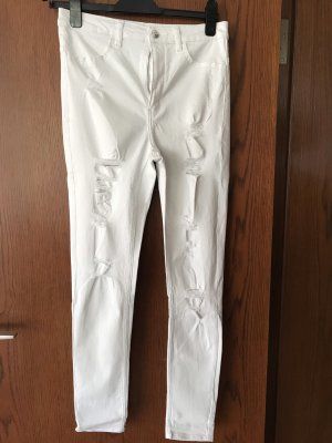 H&M Jeans skinny blanc
