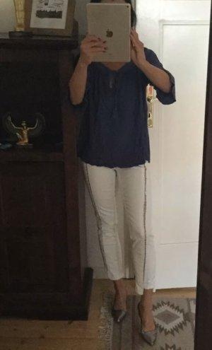 Asos Denim Jeans 7/8 blanc