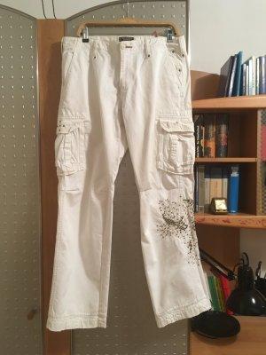 """Weisse Jeans/Cargohosen von """"MASON s"""",NP=179€"""