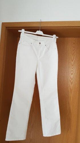 Mac Spodnie z pięcioma kieszeniami biały