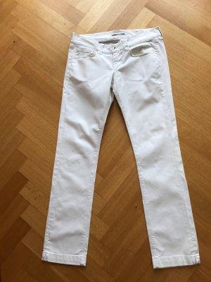 Weiße Jeans Fornarina Pin Up Gr. 32 blickdicht
