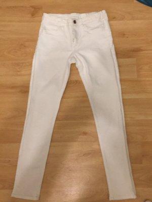 weiße Jeans für Kinder