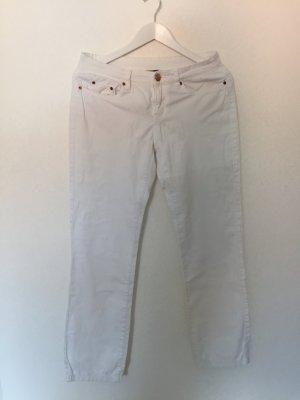 Weiße Jeans - gerades Bein Gr. 38