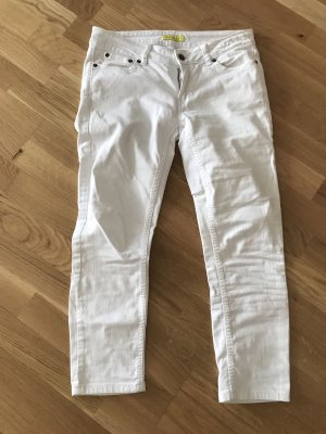 Witty Knitters 7/8 Length Jeans white