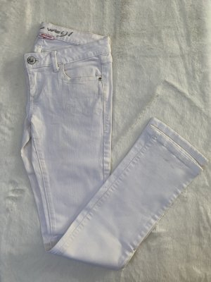Weiße Jeans-Hose von Tally Weijl Gr. M / 38
