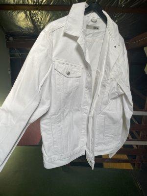 Weiße Jeans Jacke
