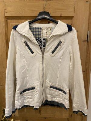 Weiße Jeans Jacke Größe 46