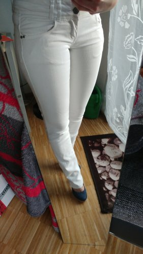 Terranova Jeans a sigaretta bianco