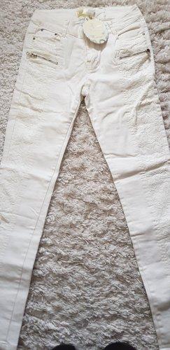 Best emilie Jeans skinny bianco sporco