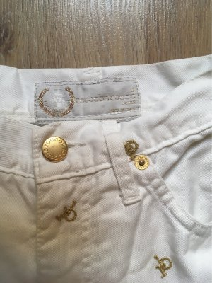Rocco Barocco Carrot Jeans white-gold-colored