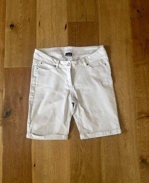 1982 Pantaloncino di jeans bianco Cotone