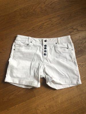 Weiße Jeans Shorts Größe 40