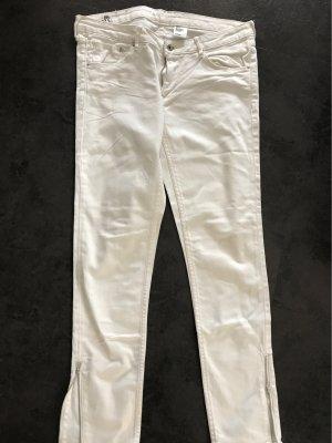 Weiße Jeans skinny Low waiste Gr 32