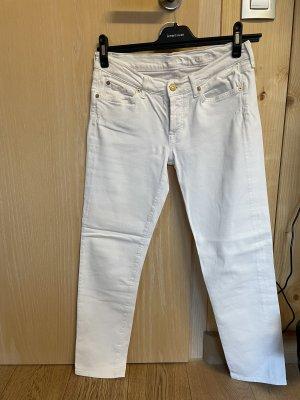 Weiße Jeans von 7 for all Mankind, Gr. 26