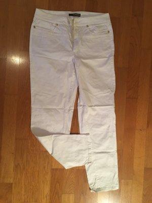 Cambio Jeans Jeansy o obcisłym kroju biały