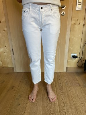 Citizens of Humanity 7/8 Length Jeans white