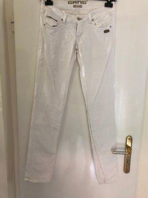 Weisse Jeans von Gang im leichten Used Look Gr. 27