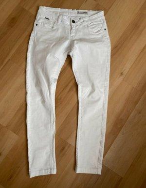 Garcia Drainpipe Trousers white
