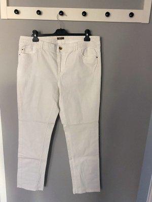 Weiße Jeans von GDM, Gr. 44