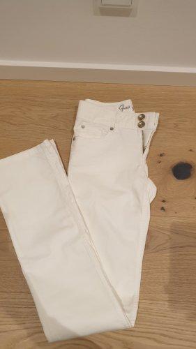 Weiße Jeans von Guess in Größe 25