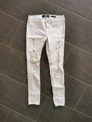 weiße Jeans von Hollister