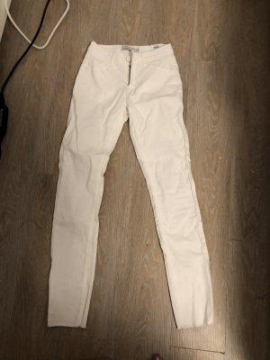 Jaqueline de Yong Jeans taille basse blanc