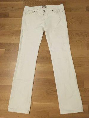 Weiße Jeans von Paige, Größe 29.