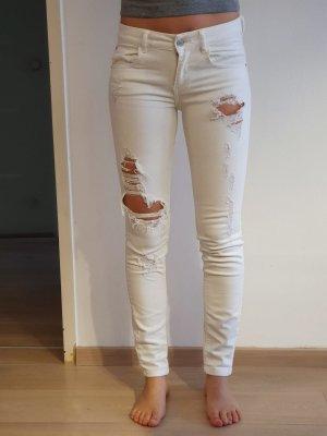 Weiße Jeans von Pull&Bear