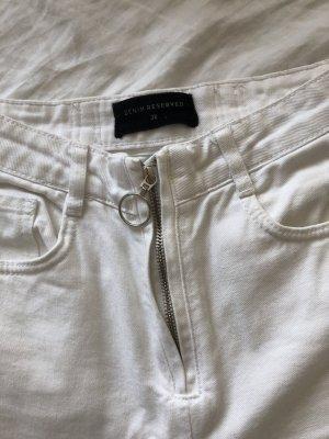 Weiße Jeans von Reserved